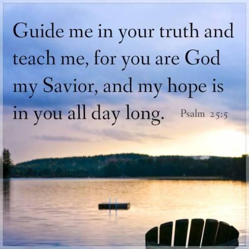 Psalm 25.5